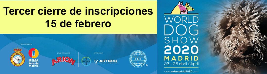 Mundial Canina 2020, Madrid